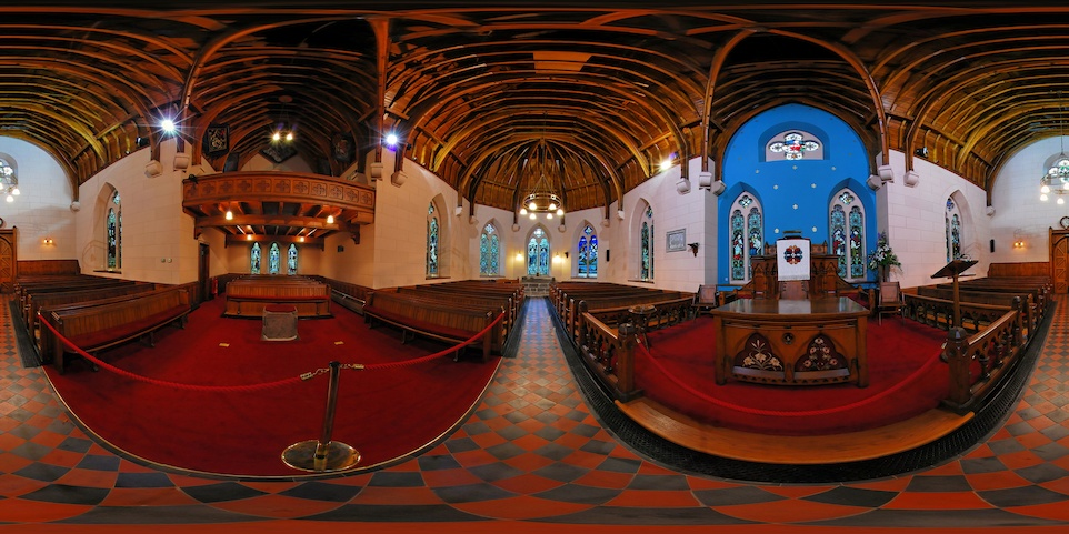 Luss Parish Church - Interior